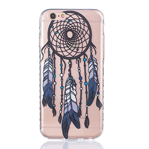 Sunroyal Hülle für iPhone 6/6S Plus (5.5 inches) Silicone Case Cover, Scratch-resistant Ultra Slim TPU Case Cover Soft Protective with Pattern Design Transparent Soft silicone Cover Pattern 12