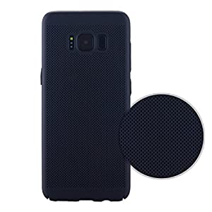 Celkase Ultra Slim Thin Anti-Slippery Scratch-Resistant Hard Pc Case Snap On Cover With Heat Dissipation Hole For Samsung Galaxy S8 Plus - Black