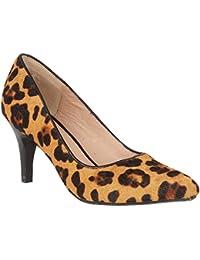 Lotus Lobelia leopardo piel corte zapatos