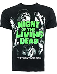 Ripleys Clothing Official T Shirt Night Of The Living Dead Vintage Horror Poster All Sizes
