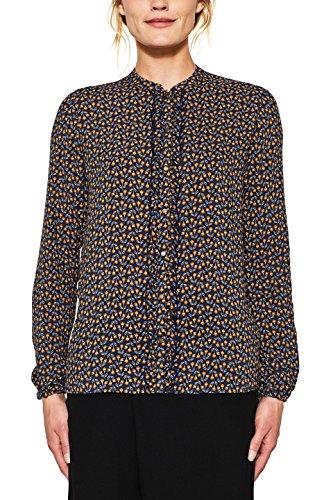 ESPRIT Damen Bluse 107EE1F025, Mehrfarbig (Ink 415), 42