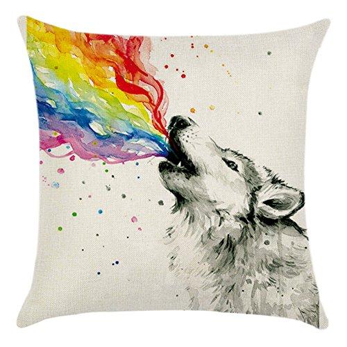 Wolf pillow case le meilleur prix dans Amazon SaveMoney.es