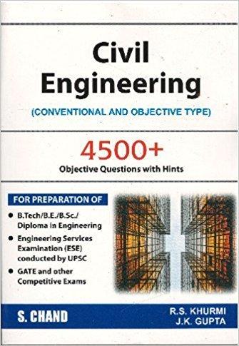 Civil Engineering (Objective Type), 4/E