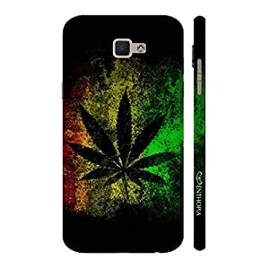 Enthopia Designer Hardshell Case Marjuana Effect Back Cover for Samsung Galaxy J7 Prime SM-G610F