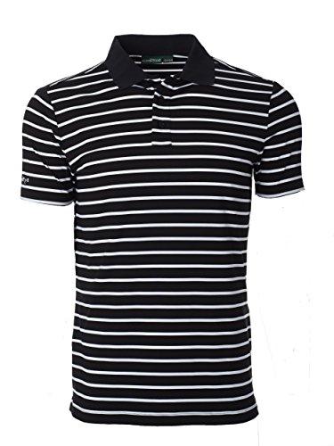 Chervo Herren Shirts Americano Golf, Herren, Milan Black