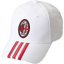 adidas AC Milan–Gorra, color blanco OSFM