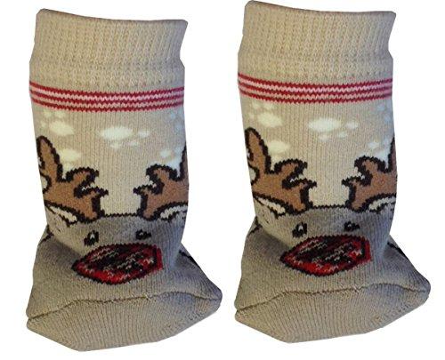 bon-marche-6-chaussettes-pour-bebe-antiderapant-15-18-brun