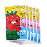 [TONYMOLY] Seedless Strawberry Seeds 3-step Nose Pack 6g (1. 5 Set) by TONYMOLY