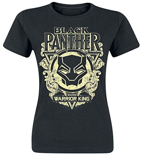 Mask Girl-Shirt Schwarz S (Panther-kids)