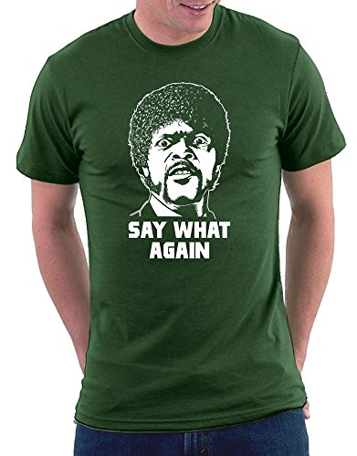 Pulp Fiction -Say What Again T-shirt Bottle