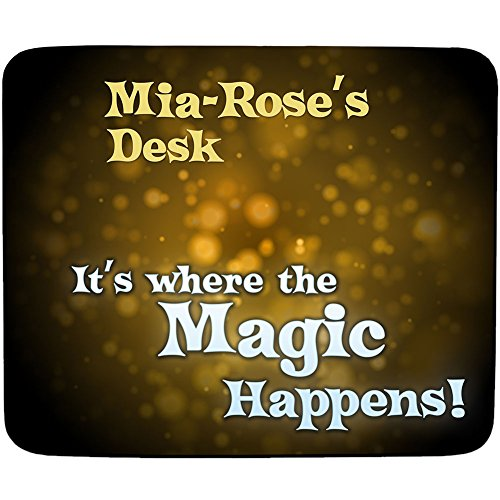 mia-roses-desk-its-where-the-magic-happens-personalised-name-mouse-mat-premium-5mm-thick