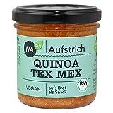 Nabio Quinoa Tex Mex - Bio Brot-Aufstrich - vegan, 6er Pack (6 x 140 g)