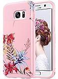 ULAK S7 Edge Case, Galaxy S7 Edge Case, Hybrid Case for Samsung Galaxy