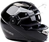 TK380 Motorradhelm Klapphelm Motorrad Helm schwarz...