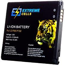 Extremecells® - Batería para LG Optimus L9 II D605 BL-53QH