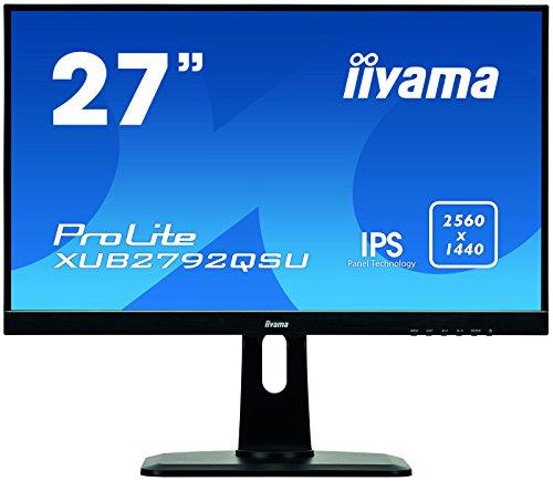 Iiyama ProLite XUB2792QSU-B1 27-Inch LED Monitor - Black