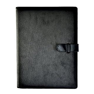 Arpan-Portfolio-Präsentationsbuch mit 36 Taschen und weichem Einband, Schwarz