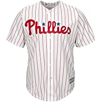 Majestic Athletic Philadelphia Phillies Cool Base MLB Replica Jersey Pinstripe Baseball Trikot Tee T-Shirt