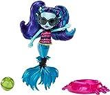 Mattel Monster High FCV67 - Monster Family Strandspaß! Lagoonas Schwester Ebbie, blau