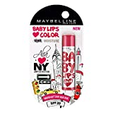 Maybelline Baby Lips Alia Loves New York, Manhattan Mauve, 4g