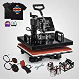 8IN1 30x25cm Heat Press Swing Away Heat Press Machines Digital Heat Press