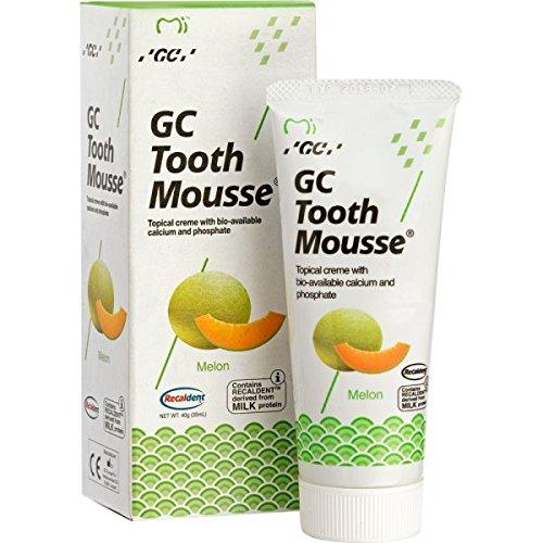 GC Tooth Mousse Zahnschutzcreme Melone, 1er Pack (1 x 40 g)
