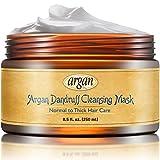 Vitamins Antischuppen Deep Conditioner Maske - Professional Arganöl Haarkur Dickes strapaziertes Haar. Entfernt effektiv Schuppen & Rückstände