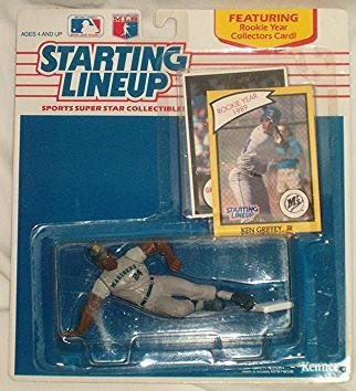 Ken Griffey Jr W/Rookie Year Collectors Card by Starting Line Up ()