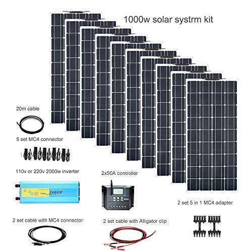 Especificación: Material celular: silicio monocristalino. Pmax (Potencia al máximo bajo STC): 100W Imp (Corriente a la potencia máxima, A): 5.55A Vmp (voltaje a potencia máxima, V): 18 V Voc (voltaje en circuito abierto, V): 21.6V Isc (corriente en e...