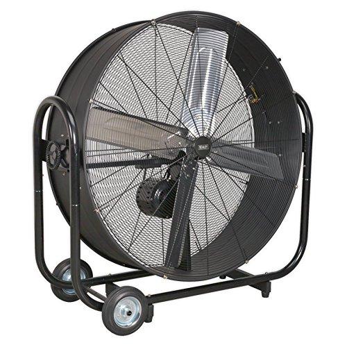 SEALEY hvd42b Industrie High Velocity Drum Fan 106,7cm Belt Drive 230V