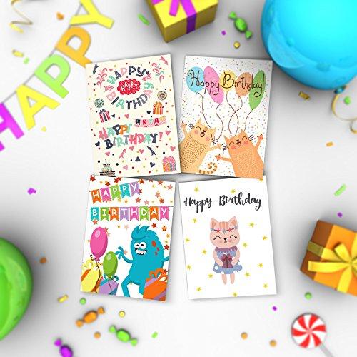 16 X KIDS Birthday Cards By Joy MastersTM Vol1