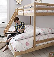 Triple Bed Bunk Bed Kent in Natural