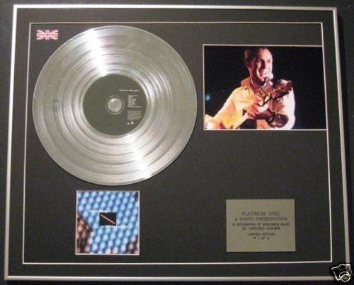 Leiter Gerahmt (Century Music Awards David Gray CD Platinum Disc + Foto - weiße Leiter)