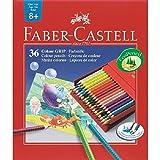 FABER-CASTELL Dreikant-Buntstifte Colour GRIP, Atelierbox VE = 1