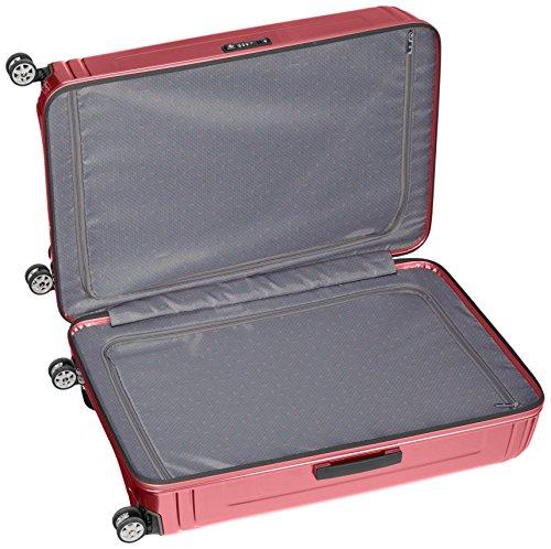 Samsonite Neopulse Suitcase 4 Wheel Spinner 81cm Metallic Red