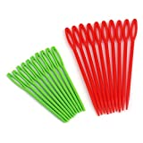 Yofafada 20 Pcs/Set 9cm/7cm Multicolor Plastic Sewing Suture Needles DIY Tool