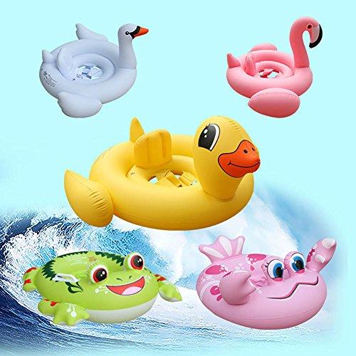 Zantec Kinder aufblasbare Pool Spielzeug Schwimmen Schwimmer Sitz Karikatur Tiere Schwimmen Ring Schwimmen (Kleine Jahr Alt Kostüm Meerjungfrau 1)