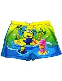 3c04b36c8447d Sports Velour Shoppe™ Child Boys Swim wear Swimming Shorts Trunk Cartoon  Minion for Kids