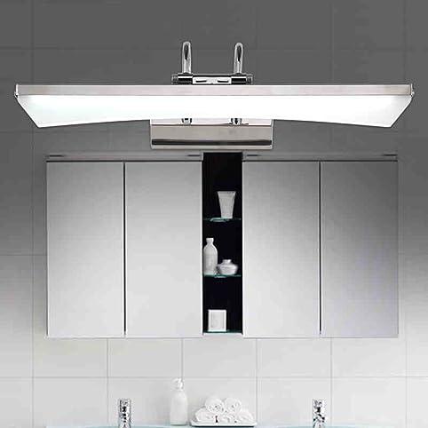 YANZHEN Badezimmer Wandleuchte (Lampe Kann Justiert Werden)  LED Spiegel Scheinwerfer Einfache Und Moderne Edelstahl Spiegelschrank  Licht Badezimmer ...