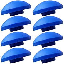 AWM Trampolin 8x Endkappen blau Sicherheitsnetz Kappen Pfosten-Stangen Ersatzteil 25 mm