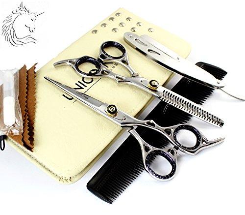 Ciseaux de coiffure Ciseaux de coiffure Coupe de cheveux Salon de coiffure Ciseaux 6,5 pouces ciseaux en acier japonais sculpteur ciseaux kit de coiffure