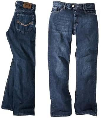 HIS Jeans Hose Randy Homme, 102-10-1008, pure blue, W33 L38