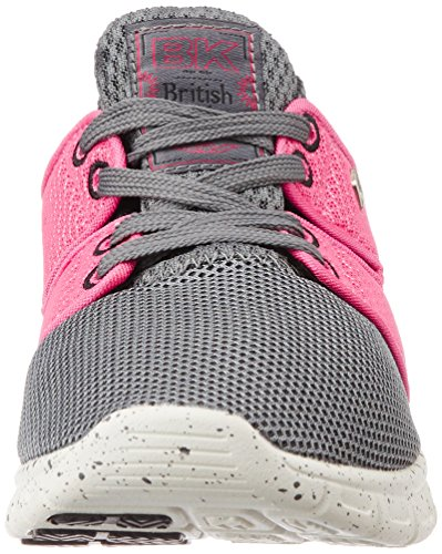 British Knights - Tempo, Sneaker Donna Grigio (Grau (DK Grey-Peach 12))