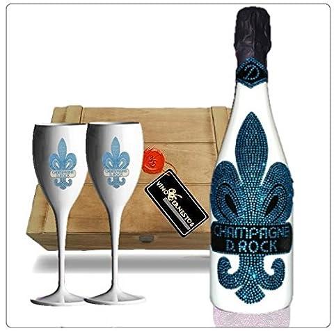 Luxus Champagner Geschenkset Ice. D. Rock Champagne Glacier mit über