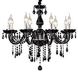 Caratteristiche:Adatto per lampadine E14(non inclusa nella confezione).Cristallo K9 di alta qualità:Una forte lucentezza può riflettere perfettamente la luce.Braccio di curvatura da 18mm: solido e resistente.Decorazione perfetta per la casa.Robusta...