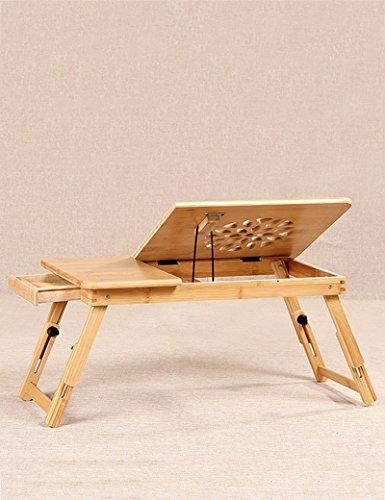 YMXLJF Fauler Tisch, kleiner Schreibtisch auf dem Bett, tragbarer Computertisch, Kühltisch, (Farbe : B-L)