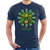 Photo de Cloud City 7 Teenage Mutant Ninja Turtles Retro Japanese Men's T-Shirt par Cloud City 7