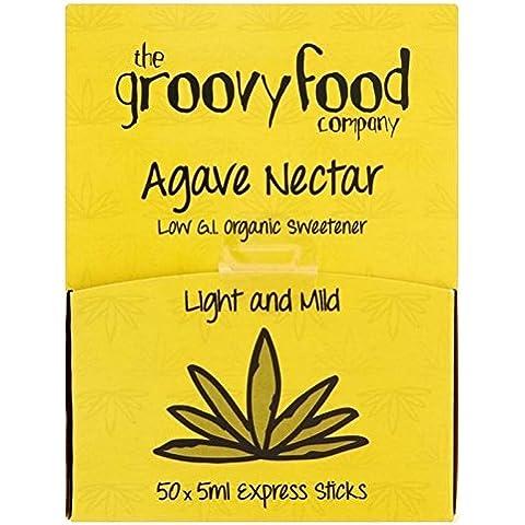 The Groovy Food Co Groovy Cibo Agave Espresso Attacca Organico 50 X 5 ml (Confezione da 2)