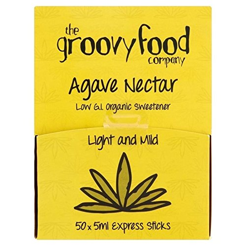 The Groovy Food Co Groovy Cibo Agave Espresso Attacca Organico 50 X 5 ml (Confezione da 6)