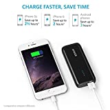 Power Bank, Anker Astro E1 5200mAh Portable Charger Candy bar-Sized Ultra Compact External Battery with High-Speed Charging PowerIQ Technology (Black) Bild 2